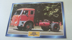 Bussing Commodore F 1967 Truck framed picture